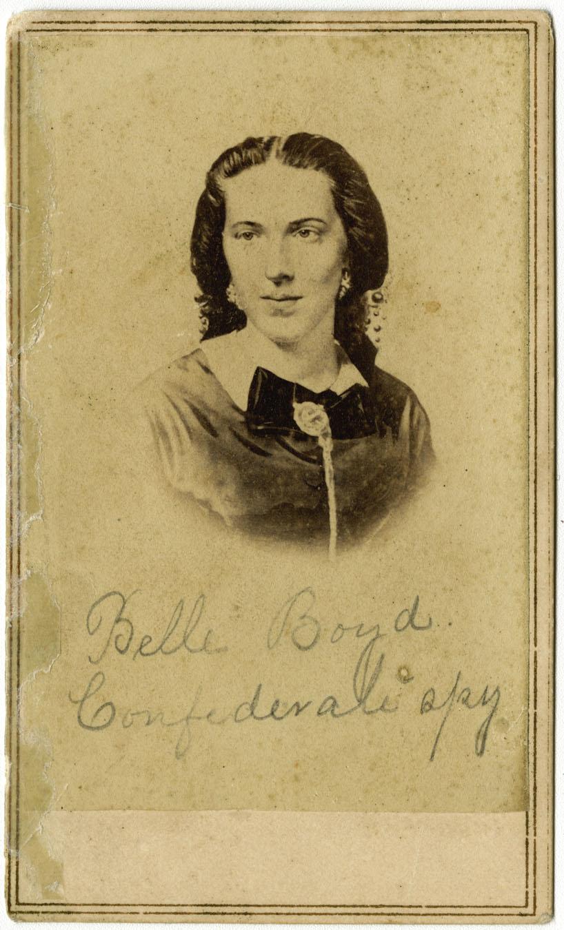 maria isabella boyd aka belle boyd essay