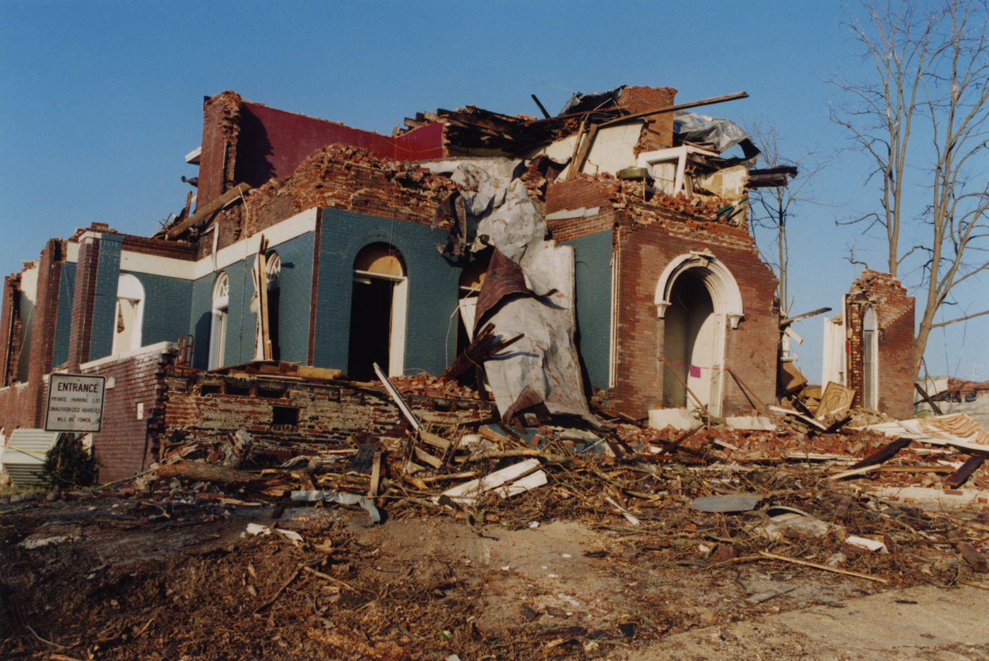Tsladisasters in tennessee clarksville tennessee january 22 1999 w j souza photograph collection freerunsca Gallery